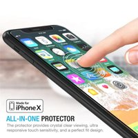 Wholesale iphone 5c s for sale – best 9H Screen Protector Tempered Glass For iPhone S S X SE S C Toughened Glas For iPhone S Plus XS Max XR S Flim