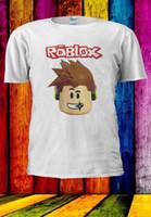 Wholesale free games online for sale - Roblox Characters Online Game Cartoon Awesome Hair Men Women Unisex T shirt Men Women Unisex Fashion tshirt