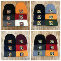 Wholesale knitted cartoon hats for sale - Group buy NEW Winter Unisex Caps Men Fashion Knitted hat Sports Skull Caps Casual Outdoor Cartoon Anime Wukong Embroidery Beanies colors ZZA841