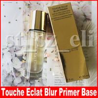 gel à base venda por atacado-Famoso Rosto Maquiagem Touche Eclat Blur Primer Base De Teint Maquiagem configuração Gel face Primer fond de teint 30 ml