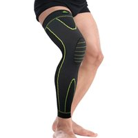 Wholesale comfortable knit leggings for sale - Group buy Lengthen Knitting Kneepad Springy Breathable Man And Women Kneecap Outdoor Black Comfortable Dry Fast Leggings Hot Sale ybD1