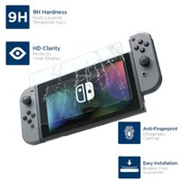 Wholesale nintendo covers resale online - Tempered Glass Screen Protectors Anti Scratch Protective Cover Film For Nintendo Switch NS LCD Screen Protection Skin For Nintend Switch
