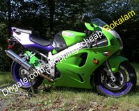 Wholesale kawasaki 1998 7r fairing for sale - Group buy For Kawasaki Ninja ZX R ZX R ZX7R ABS Plastic Motorcycle Complete Fairing set