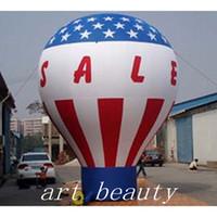 globos inflables publicitarios al por mayor-globo de tierra inflable al aire libre, globo inflable promocional de Inflatables del globo del globo inflable gigante de la publicidad