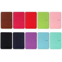Wholesale kindle paperwhite leather cover case for sale - Group buy New Arrival Cover Tablet Case for Amazon Kindle Paperwhite Ultra Slim Smart Leather Magnetic Case Cover