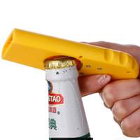 ingrosso giocattolo di bottiglia di birra-Wine Bar Bullet Toy Apribottiglie vino aperto Birra creativa