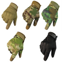 Wholesale new tactical gloves resale online - 2019 New Heat Dissipation Breathable Tactical Touch Screen Gloves Riding Rock Climbing Sports Fitness Gloves Support FBA Drop Shipping M324Z