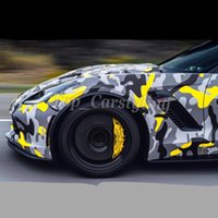 Wholesale camouflage foil car for sale - Group buy black gray yellow snow camo camouflage car wrap stickers foil with bubble free size x10m m m available