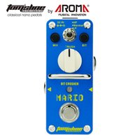 Wholesale guitars effects for sale - Group buy AROMA AMO Mario Bit Crusher Electric Guitar Effect Pedal With True Bypass Guitarra Pedal