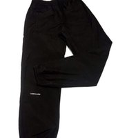 ingrosso vendita calda del ricamo-19SS pantaloni di lusso Europa piccolo logo ricamo pantaloni neri moda di strada vendita calda uomini donne di alta qualità paio pantaloni semplici HFSSKZ077