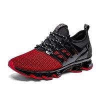 chaussures de course à ressort achat en gros de-Hommes Chaussures de course printemps Lame Sneakers Rembourrage extérieur Hommes Sport Chaussures Jogging Soigneur Homme