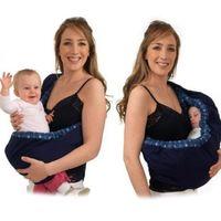 sırt çantası çocuk taşıyıcıları toptan satış-Bebek Taşıyıcı Çocuk Sling Bebek Sırt Çantası Taşıyıcı Wrap Kundaklama Çocuklar Hemşirelik Papoose Kılıfı Ön Yenidoğan Bebek Için Taşıma