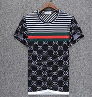 erkekler için t gömlek yaka stilleri toptan satış-Yaz 18ss Avrupa Amerikan tarzı etiketi yılan baskı giyim erkekler kumaş mektubu polo g t-shirt yaka casual kadın tişört tee gömlek tops 998