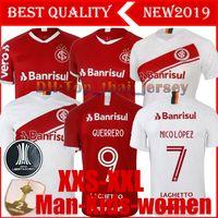 новые футболки клуба оптовых-NEW 19 120 Brazil CLUB Internacional футбольная майка RED HOME women 2019 футболка гости N