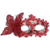 ingrosso farfalla piena sexy-2019 Butterfly Ball nuovo sexy Maschera Maschera per donne delle ragazze Masquerade partito di Dancing Bella Maschera di protezione mezza