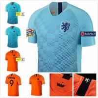 Nederland soccer jersey home orange HOLLAND ROBBEN SNEIJDER V.Persie netherlands  JERSEY 18 19 thai quality Dutch football shirts 5b3ae4bde