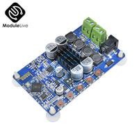 poder azul bluetooth al por mayor-TDA7492P Tablero Azul Inalámbrico Bluetooth 4.0 reproductor Módulo altavoz Receptor de audio Digital 8-25V Potencia 2X50W Wifi
