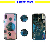 Wholesale iphone6 cases for sale - Fashion Phone Case with Kickstand for IPhoneX Xs XSmax XRIPhone7 plus IPhone7 IPhone6 s IPhone6 sP Creative Camera Style Phone Case