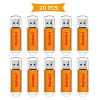 оранжевые таблетки оптовых-Оранжевый Bulk 20 шт. 512 МБ USB Флэш-накопитель Флэш-Пен-Драйв Прямоугольник Высокоскоростной Палец Памяти Memory Stick Хранения для Компьютера Ноутбука Планшет Macbook