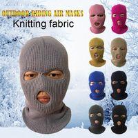 Wholesale balaclava face mask hole resale online - Army Tactical Mask Hole Full Face Mask Ski Winter Cap Balaclava Hood NEW