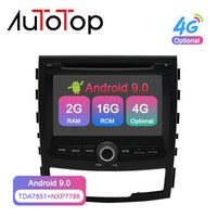 Wholesale ssangyong radio resale online - AUTOTOP din Android Car Multimedia Player for SSANGYONG KORANDO GPS Navigation G Wifi Stereo Radio RDS Headunit car dvd