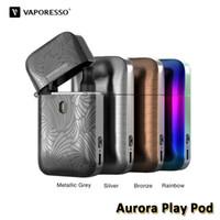 baterias isqueiros venda por atacado-PROMOÇÃO - Vaporesso Aurora Jogar Pod Kit Built-in bateria 650mAh Com 1.3ohm 2ml Flip e Preencha Cartucho Lighter Projeto Kit 100% Authentic