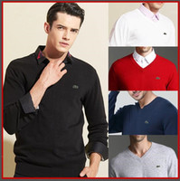 Wholesale polo black knit resale online - new high quality polo brand men s twist sweater knit cotton sweater jumper pullover sweater men polo sweaters