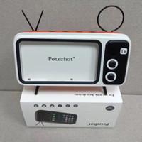 ingrosso mobile più piccolo della mela-Peterhot PTH800 Riproduce il telefono e gli orologi Computer Altoparlante Bluetooth Altoparlante per TV bassa Amplificatore per telefono cellulare Amplificatore per esterni Piccolo