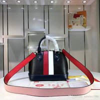 Wholesale modern women backpack resale online - The Modern Version Of This Bag Continues Its Classic Silhouette With Leather And Colored Ribbons Bright Colors Inspiring Size x19x11cm