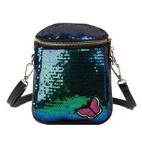 Wholesale flapping butterfly resale online - MOLAVE female Bag Over The Shoulder Women s Latest Hot Wild Shiny Solid Butterfly Print Single Shoulder Messenger Bags S25