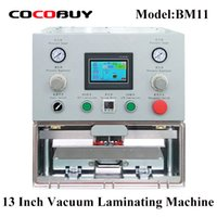 Wholesale refurbished tablets resale online - YMJ Tablet Vacuum Laminator Machine OCA film laminating for Mobile phone lcd and tablet screens inch Refurbishing repair