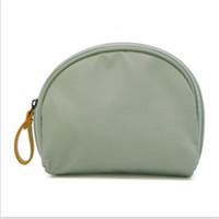 косметический бизнес оптовых-Women Shell Cosmetic Bag Makeup Organiser Case Toiletry Bags New Fashion Solid Waterproof Travel Business Trip Accessories