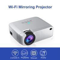 projecteurs achat en gros de-Mini Projecteur Portable Mini HD Led Projecteur Connexion WiFi sans fil Projecteurs Projecteur 3D Projecteur 2019 nouvelle arrivée