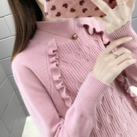 Wholesale f clothes for sale - Group buy 2019 Real Poncho Actual Photo Of New Women s Clothing Autumn And Winter Sweater Insert F Rows Shelves
