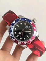 часы мужчины цифровой фарфор оптовых-Мужские высококачественные часы, керамика, автоматический механизм 2813, производство Китай, резиновый ремешок, большой цифровой календарь, высокопрочное стекло,