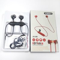 Wholesale ip headphones for sale - Group buy 2019 JX X6HD Bluetooth Headphones Wireless Earbuds For Music Earphones Stereo with Magnetic Touch Charger Box for Ip X Sams Retail package