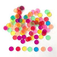 comprimés jouets achat en gros de-Livraison gratuite jouet maternelle éducation précoce aide pédagogique enfant Puzzle jouet 100 comprimés en plastique feuille transparente couleur petite plaquette