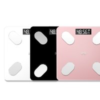 Wholesale electronic connections for sale - Group buy Rechargeable USB Electronic Intelligent Scale BT Digital Scale Weight Scale with Item Data BT Connection Voice Broadcast
