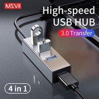 android için usb rj45 ethernet adaptörü toptan satış-Yüksek Hızlı USB 2.0 3.0 Ethernet Android TV Set-top Box USB HUB RJ45 Tip-C Portu Lan Adaptörü Ağ Kartı PC Tablet için
