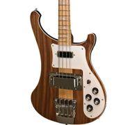 nouvelle guitare basse achat en gros de-NOUVEAU Ric 4003W Basse en noyer naturel RARE TRANSLUCENT NOYER vintage 4003 Basse électrique Cou par le corps
