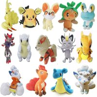Wholesale doll lowest online - Pokemons Stuffed Animals Doll toys Clean up inventory and sell low prices Models Random CM Plush doll Toys