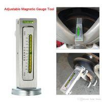 Wholesale chevrolet airbag reset tool resale online - Universal Adjustable Magnetic Gauge Tool Camber Castor Strut Wheel Alignment Truck Car Camber Castor Strut Wheel Alignment Auto