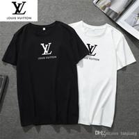 medusa camisetas venda por atacado-Europa Lazer camisa T homens Contraste camiseta Moda Medusa Mens Designer G8 manga curtaLouis Vuitton