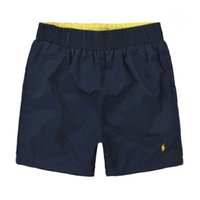 1a821057a8 Troncos de baño de secado rápido para hombres 2019 Nueva moda Casual  Avant-Garde Pantalones cortos deportivos Bordado Polo Logo Diseño de marca  de lujo