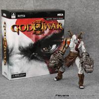 kratos dios guerra figura al por mayor-Neca God Of War 3Ghost de Sparta Kratos Pvc Figura de acción de colección Modelo de juguete 22Cm