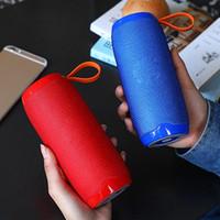 reproductor de mp3 altavoz grande al por mayor-tg106 Altavoz Bluetooth inalámbrico portátil Carga USB efecto de graves estéreo HIFI multifunción Mini altavoz Bluetooth para exteriores