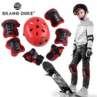 Wholesale kids elbow pads for sale - Group buy 7Pcs set Kids Skating Cycling Helmet Elbow Knee Children Skating Helmet Protection Safety Cycling Pad Wrist Pads Elbow Protect
