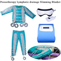 Wholesale slimming blankets for sale - Group buy Air Pressure Pressotherapy Lymphatic Drainage Body Slimming Blanket Weight Loss Body Massager Blood Circulation Relieve Fatigue Machine