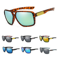 Wholesale fox sunglasses for sale - Group buy New Brand Fashion Sunglasses FOX Cycling Sun Glasses for Men Women Leopard Design Bicycle Square Eyewear Outdoor Sports Bicycle Eyewear