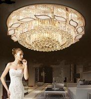 lustre rectangulaire led achat en gros de-Livraison gratuite rectangulaire Lustre en cristal salle à manger Luminaire LED Lumière garantie 100% LLFA